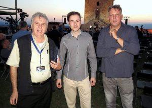 Z mojim mentorjem Francijem Smrekarjem in predsednikom DPSG Igorjem Pirkovičem